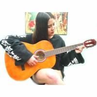 Rockman 38寸标准 古典吉他 木吉他 尼龙弦 六弦琴吉他 38寸吉他 木吉他 送:吉他拨片 吉他调节扳手一个
