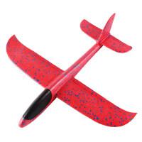 儿童小飞机回旋塑料模型网红手抛户外泡沫飞天玩具平衡滑翔机网红