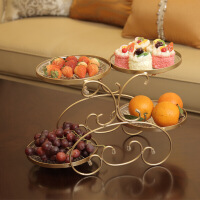 水果盘客厅果盘创意现代家用拼盘干果盘糖果盘欧式茶几多功能塑料