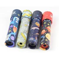 益智玩具 智力开发 朵莱 卡通万花筒儿童益智玩具旋转万花筒星球系列随机