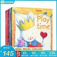The Things I Love About……我喜欢做的事系列8本套装 Bedtime新西兰情绪管理大师特蕾西・莫洛尼关注儿童心灵健康成长经典之作 亲子阅读 英文原版儿童情绪管理图画书