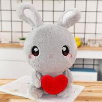 兔子毛绒玩具公仔抱枕大号可爱睡觉抱布娃娃女孩玩偶小白兔胡萝卜