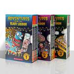黑湖小学历险记2 3季 英文原版儿童书 Black Lagoon Adventures 黑潭小学 20册 章节读物 全