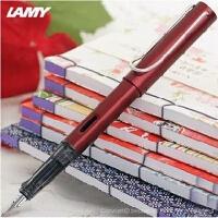 LAMY/凌美笔AL-star恒星宝石红钢笔 凌美钢笔