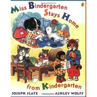 Miss Bindergarten Stays Home From Kindergarten宾得小姐不上幼儿园ISBN