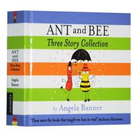 蚂蚁和蜜蜂三个故事合集 英文原版 Ant and Bee Three Story Collection 英文版 儿童色彩