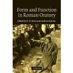 【预订】Form and Function in Roman Oratory