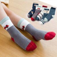 儿童袜子春秋款童袜男童女童棉袜宝宝中筒袜婴儿袜1-12岁