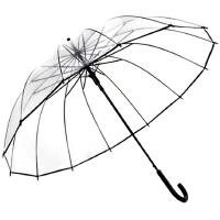 透明雨伞女折叠小清新个性学生创意男晴雨伞长柄自动