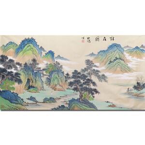 一级美术师 中国国画家协会常务理事曲秋鸿先生作品――访友图