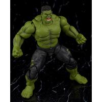 漫威英雄 1/12复仇者联盟4 惊奇队长万代shf可动手办模型人偶玩具 SHF 绿巨人