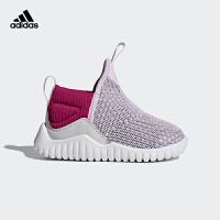 阿迪达斯(adidas)2018年新款童鞋CP9427航空粉/鲜红
