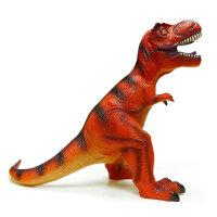 哥士尼儿童恐龙玩具 仿真动物软胶大号霸王龙 大恐龙玩具塑胶模型