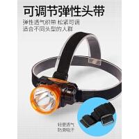 小号头灯强光可充电头戴式钓鱼手电筒led户外家用