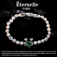 六一儿童节520法国Eternelle奥地利水晶手链十二星座手环女个性手串情人节礼物母亲节