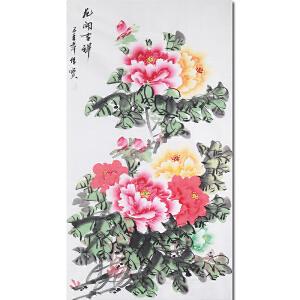 中国著名花鸟画家余传宝先生作品――花开吉祥