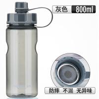 大容量水杯户外运动便携塑料太空杯大号水杯2000ml抖音
