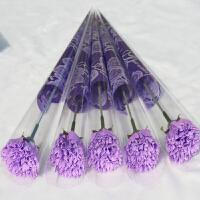 香皂玫瑰花束单支妇女节母亲节创意活动小礼品情人节康乃馨肥皂花