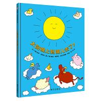 信谊绘本:0-3岁阅读启蒙精选・太阳晚上到哪儿去了