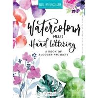 预订Watercolour Meets Hand Lettering:The Project Book of Prett