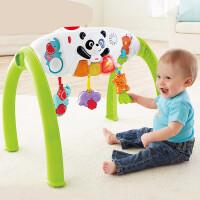 费雪(Fisher Price) 缤纷动物豪华健身器Y6588 宝宝玩具婴儿健身架 多功能游戏架 Y6588费雪-缤纷