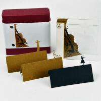 创意抖音便签纸立体3D日本清水寺艺术便利贴纸雕模型七夕礼品情人节礼物送男女朋友
