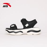 安踏女士跑鞋2021夏季新款舒适时尚休闲沙滩凉鞋122138504