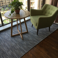 厨房地垫可定做厨房吸油地垫长条耐脏脚垫吸水门垫防滑卧室地毯 1