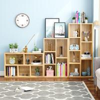 莉云居简易书架置物落地简约实木客厅儿童小书柜子桌面上收纳学生