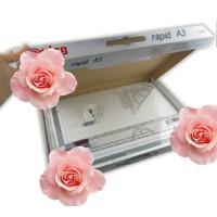 好吉森鹤/北京线上50元包邮//德国红环A3便携式绘图板/绘图用支架板/塑料架/带仪尺套装/绘图写字用支架板颜色随机---------1套+送品9866