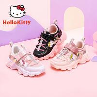 【3折价:98.7元】凯蒂猫女童鞋2020秋季新款时尚甜美儿童鞋轻便透气女童运动鞋K0533902