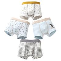 �和��妊�男童�棉 中大童四角薄款����小童男孩短�夏季