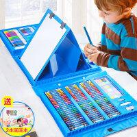 美术用品画笔水彩笔小学生学习礼盒儿童画画套装绘画工具男孩玩具