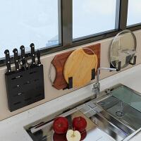 不锈钢锅盖架壁挂式免打孔厨房锅盖收纳架挂式家用放锅盖置物架子