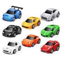 玩具车模型 合金回力车玩具汽车巴士男孩玩具车套装 儿童礼物
