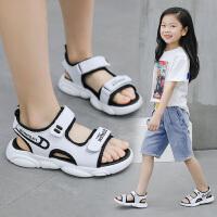 2019夏季新款女童凉鞋韩版软底童鞋男孩宝宝魔术贴运动凉鞋