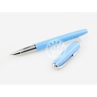毕加索PS-916马拉加淡蓝色特细财务笔/钢笔 礼品笔