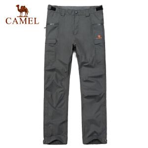 camel骆驼户外冲锋衣 户外运动休闲 男款冲锋裤