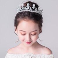 皇冠�^��和�婚��^�女童生日�b�走秀演出配�花童�l箍大皇冠�⒑0l�白MYZQ61 白色