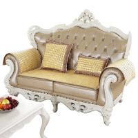 夏季麻将凉席沙发垫竹坐垫椅垫北欧式布艺皮沙发夏天凉坐垫子定制