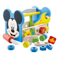 儿童玩具男孩1-2-3-4周岁拼装宝宝儿童智力开发早教 米奇工具箱2928