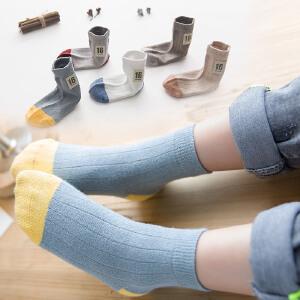 UOVO儿童袜子中小童中筒袜运动袜