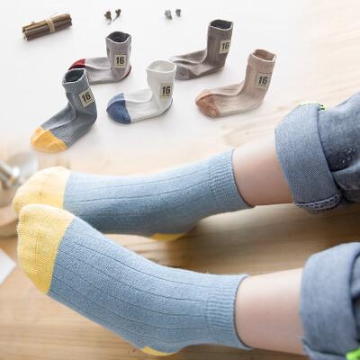 UOVO儿童袜子中小童中筒袜运动袜【每满100立减50 上不封顶 支持礼品卡】