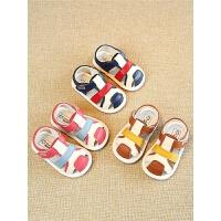 夏季1-3岁婴儿幼儿鞋子男宝宝凉鞋软底小童学步鞋女