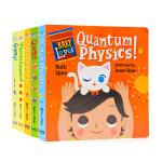 萌萌的科学Baby Loves Science系列探索6册纸板书 英文原版 宝宝爱科学绘本 3-6岁低幼科普百科启蒙
