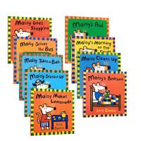 Maisy 小鼠波波系列6本套装 Lucy Cousins Maisy Drives The Bus Maisy'S Bedtime Doctor Maisy Maisy'S Bedtime