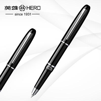 英雄钢笔101大号美工笔书法弯笔尖笔头铱金笔墨水笔 注:0.5为直尖钢笔 1.0为弯尖美工笔
