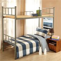 学生宿舍上下铺单人床单寝室三件套被套儿童床上用品纯棉员工套装