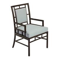【新品热卖】实木餐椅复古休闲椅简约现代书房椅子家用布艺靠背新中式餐椅家具 12把起卖(颜色可定制)