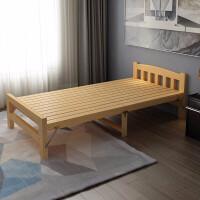 单人床家用经济型实木床单人人午休床0.6米简易床木板床医院陪护床家用午休床单人折叠 60CM宽*195CM长*30CM